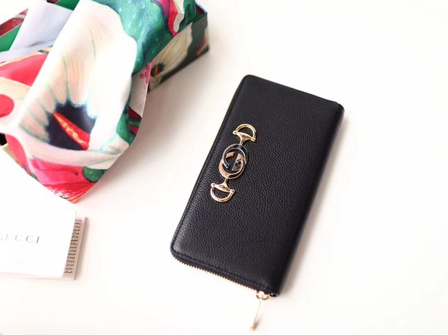 Gucci Zumi Wallet 570661 black