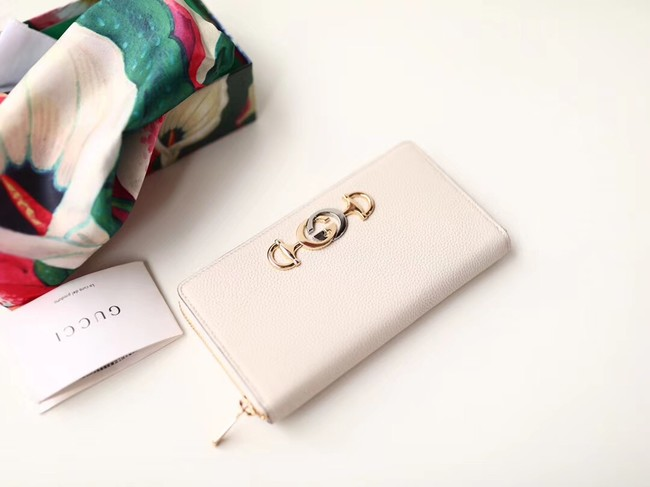 Gucci Zumi Wallet 570661 white