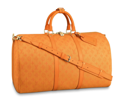 Louis vuitton original KEEPALL BANDOULIERE 50 M44644 Ochre