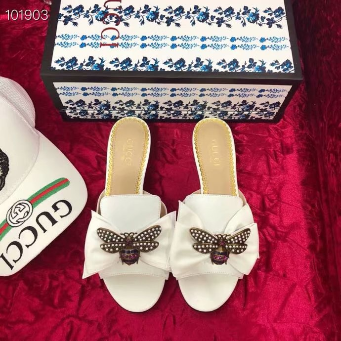 Gucci Leather slipper GG1534BL-1