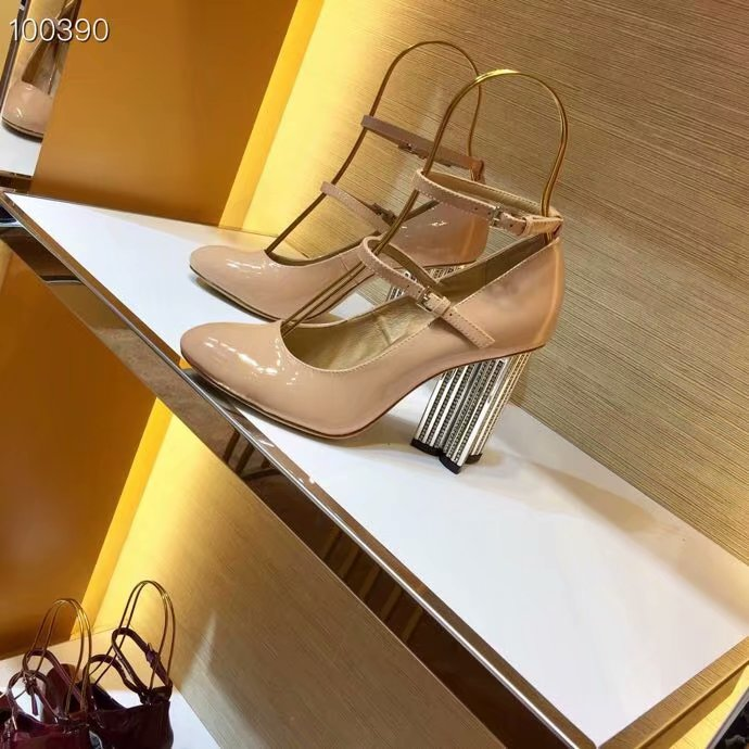 Louis Vuitton High-heeled shoes LV960SY-1 7CM height