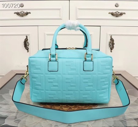 Fendi Boston Bag 8BL141A skyblue