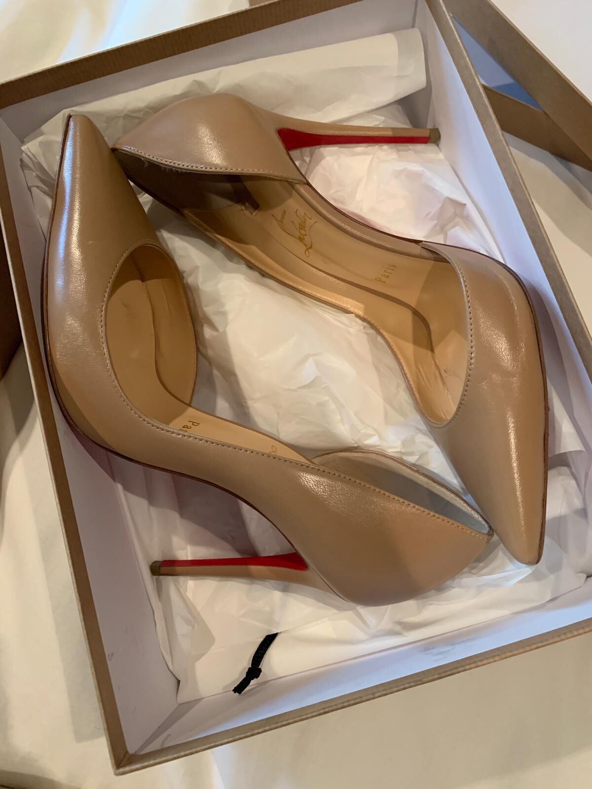 Christian Louboutin Heels Shoes CL8896 Nude