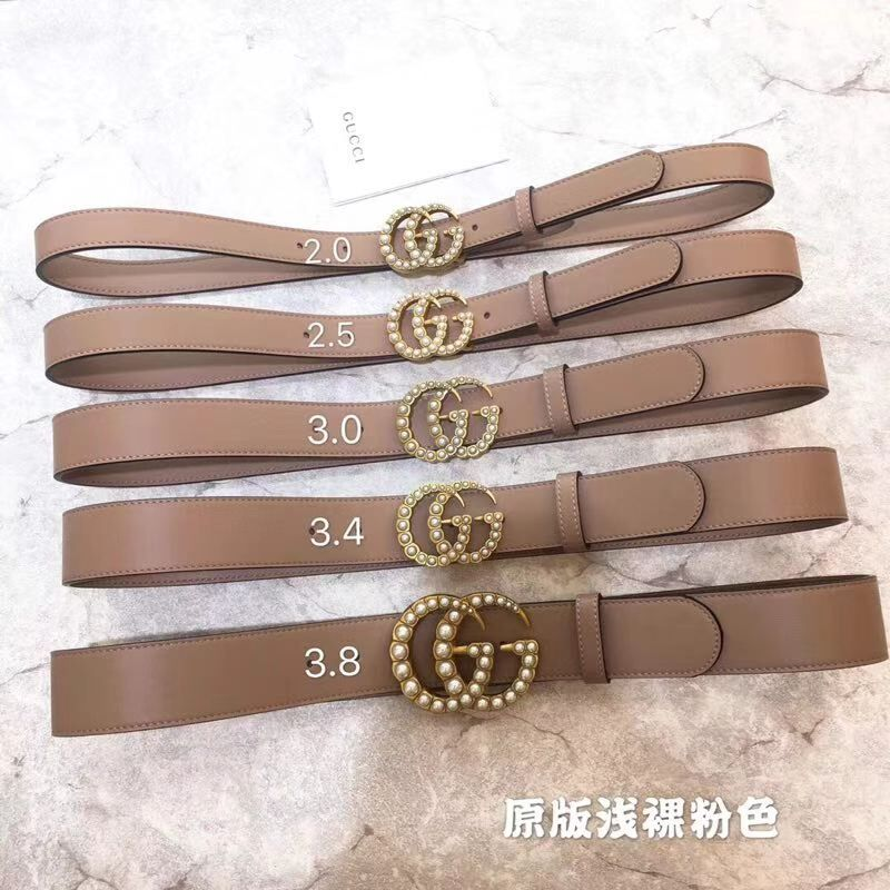 Gucci Belt GB18211 Nude