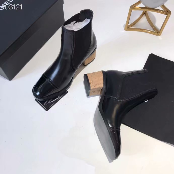 Chanel Shoes CH2536JYX-3 Black