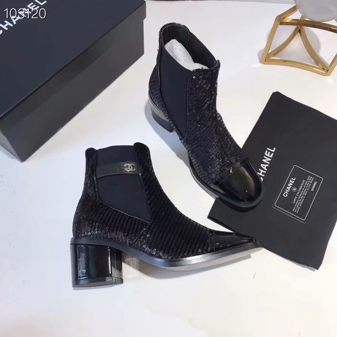 Chanel Shoes CH2536JYX-4 Black