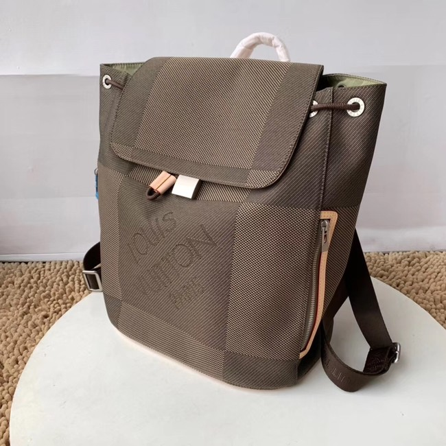 Louis Vuitton backpack M93055 grey