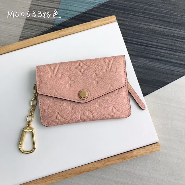 Louis Vuitton card holder N60633 pink
