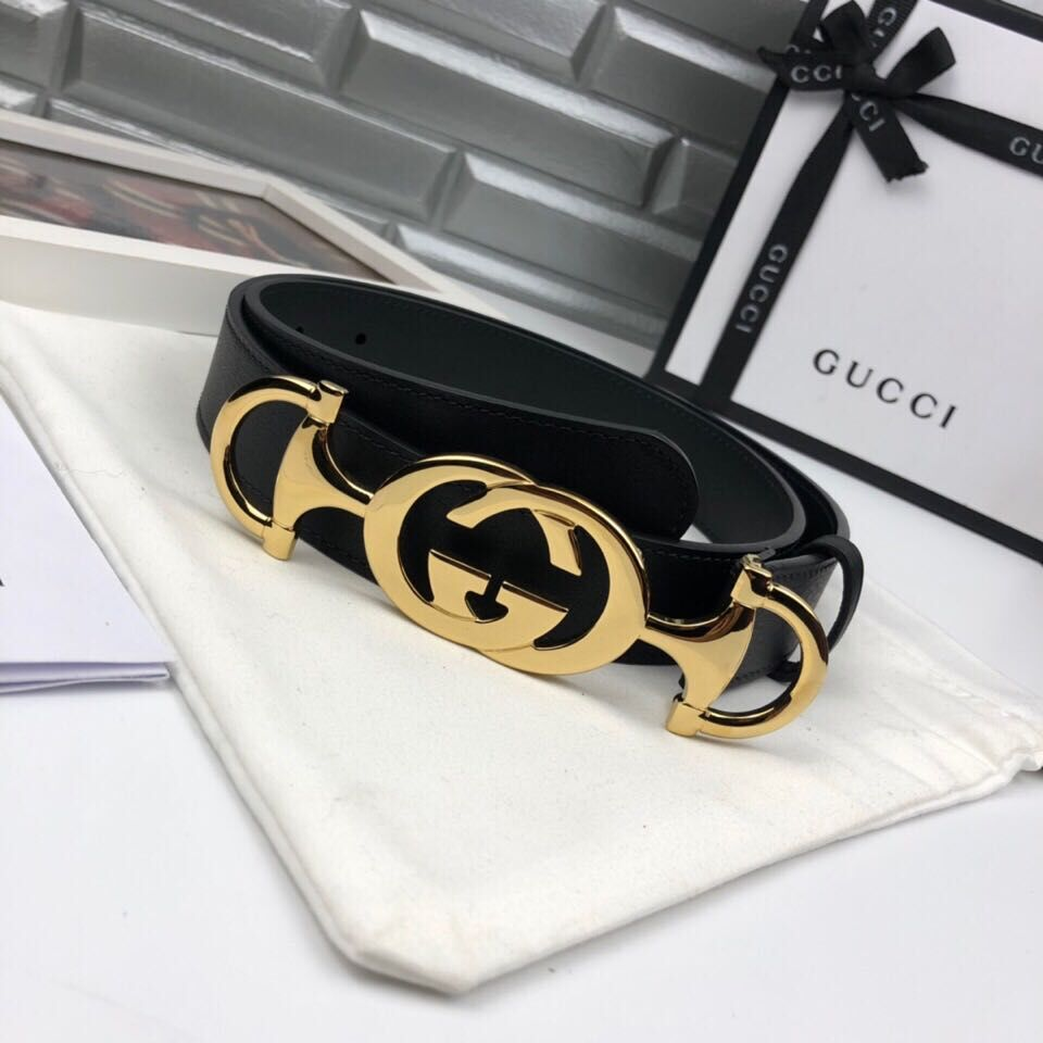 Gucci Belt GB18218 Black