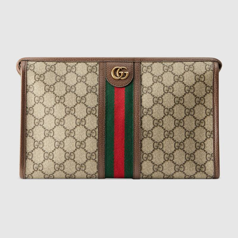 Gucci Ophidia series GG wash bag 598234 brown