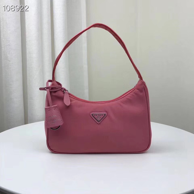 Prada Re-Edition 2000 nylon mini-bag 1NE515 pink