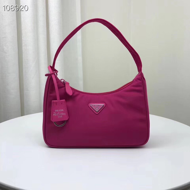 Prada Re-Edition 2000 nylon mini-bag 1NE515 rose