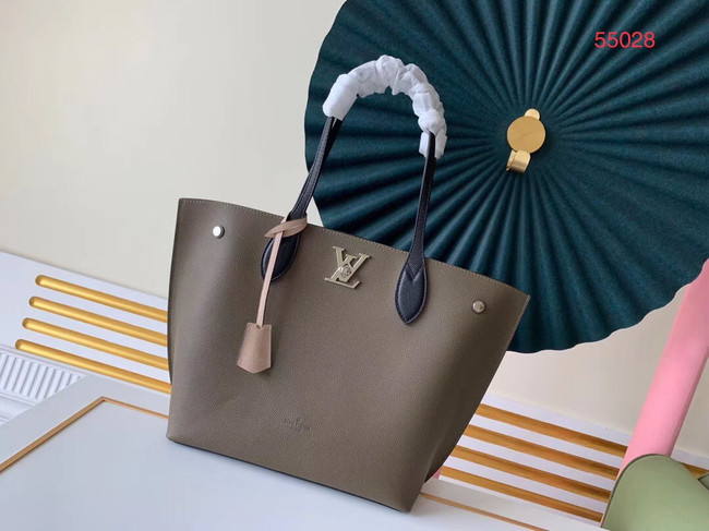Louis vuitton original LOCKME GO M55028 Khaki