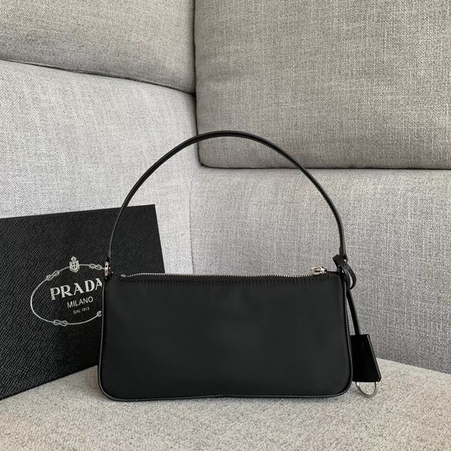 Prada Nylon tote bag 91633 black