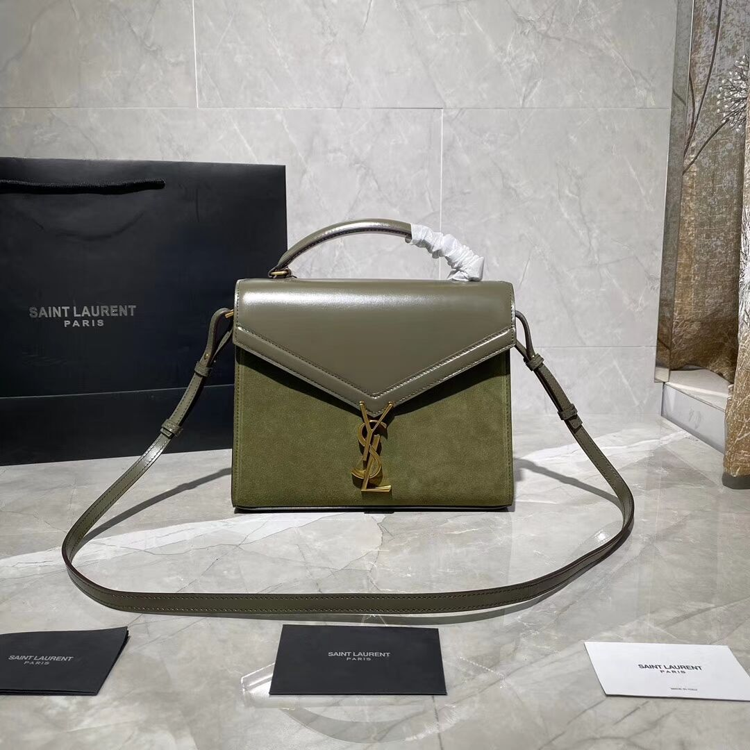Yves Saint Laurent Original tote Bag Y578001 green