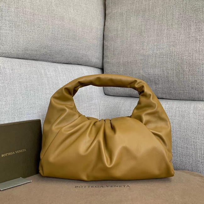 Bottega Veneta Sheepskin Original Leather 610524 Khaki