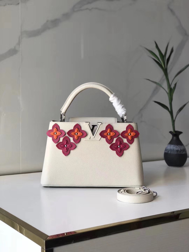 Louis Vuitton CAPUCINES PM M48866 white