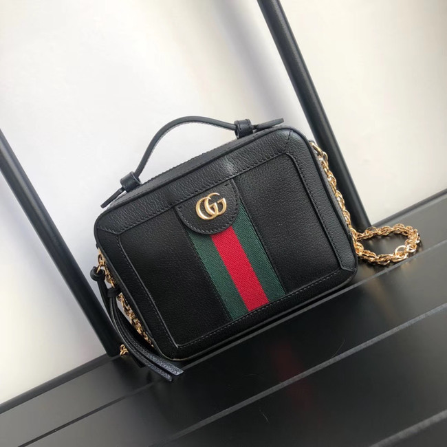 Gucci Ophidia series GG Mini Shoulder Bag 602576 black