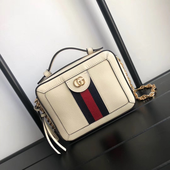 Gucci Ophidia series GG Mini Shoulder Bag 602576 white