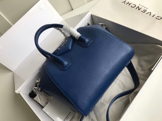 Givenchy Grained Calfskin Small Antigona Bag BB0511 blue