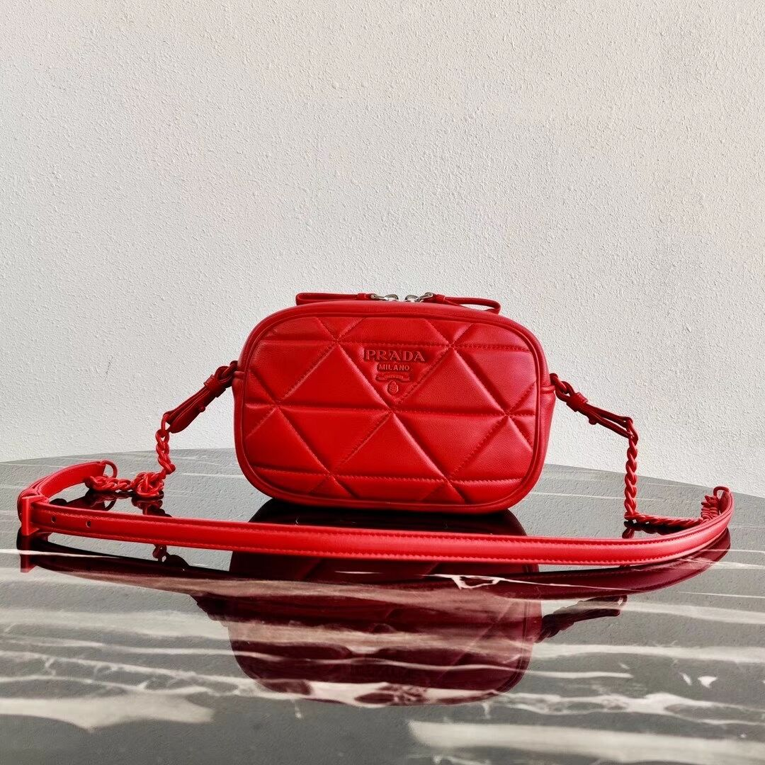 Prada Spectrum shoulder bag 1BH141 red