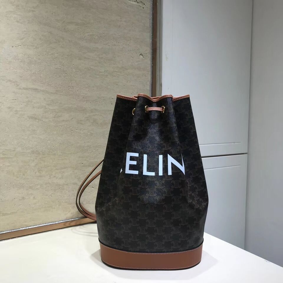 Celine BUCKET BAG CL01532 tan