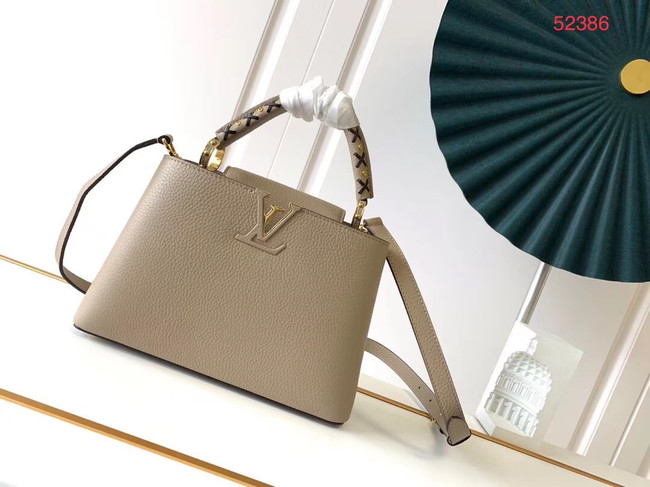 Louis Vuitton CAPUCINES PM M523867 grey