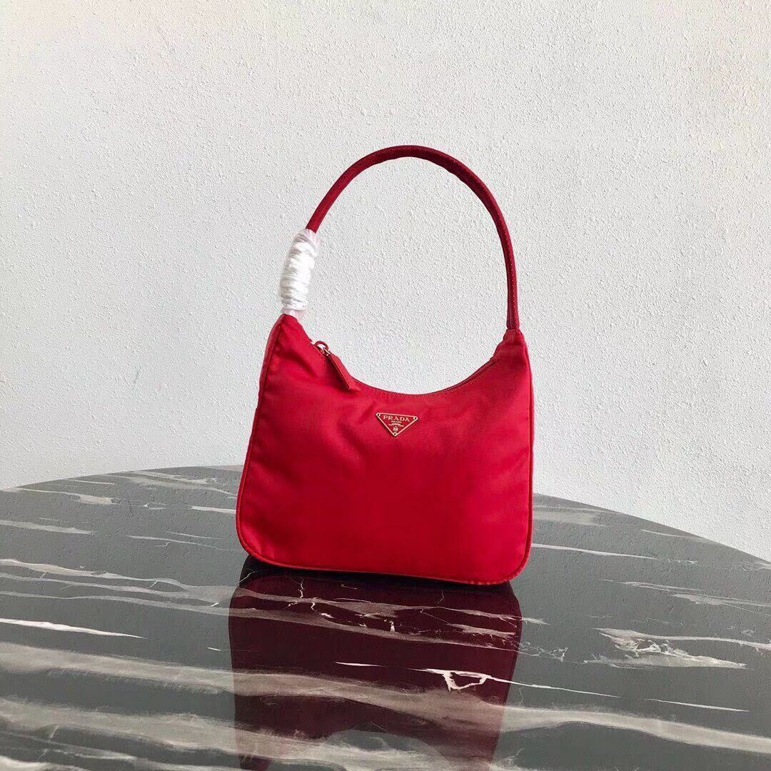 Prada Re-Edition nylon Tote bag MV519 red