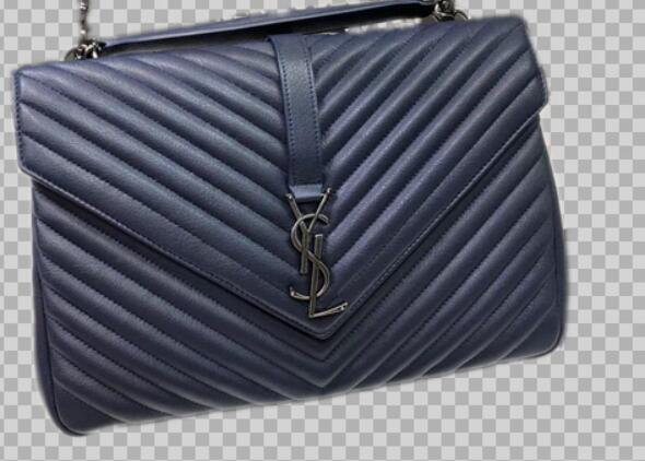 YSL Classic Monogramme Original Leather Flap Bag Y392738 Blue