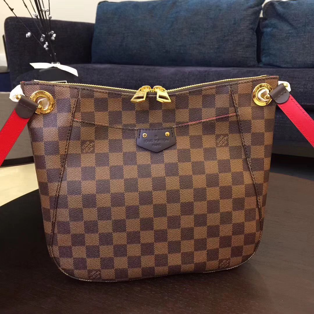 Louis Vuitton Damier Ebene Canvas SOUTH BANK BESACE N42230
