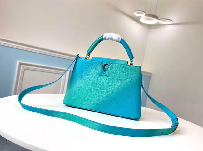 Louis Vuitton CAPUCINES PM M55375 blue