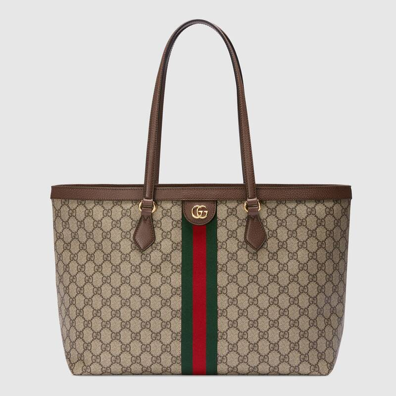 Gucci Ophidia series medium GG Tote Bag 631685 brown