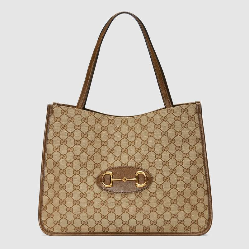 Gucci 1955 Horsebit tote bag 623694 Brown