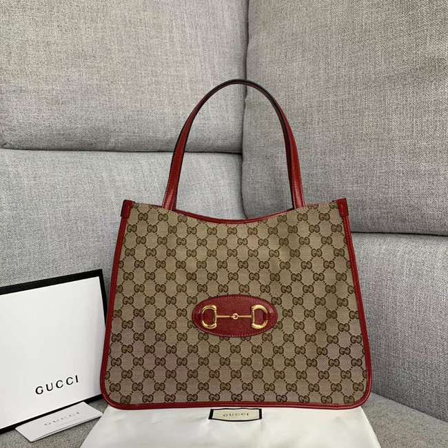 Gucci 1955 Horsebit tote bag 623694 red