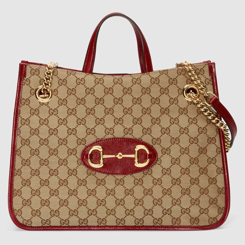 Gucci 1955 Horsebit tote bag 621144 red