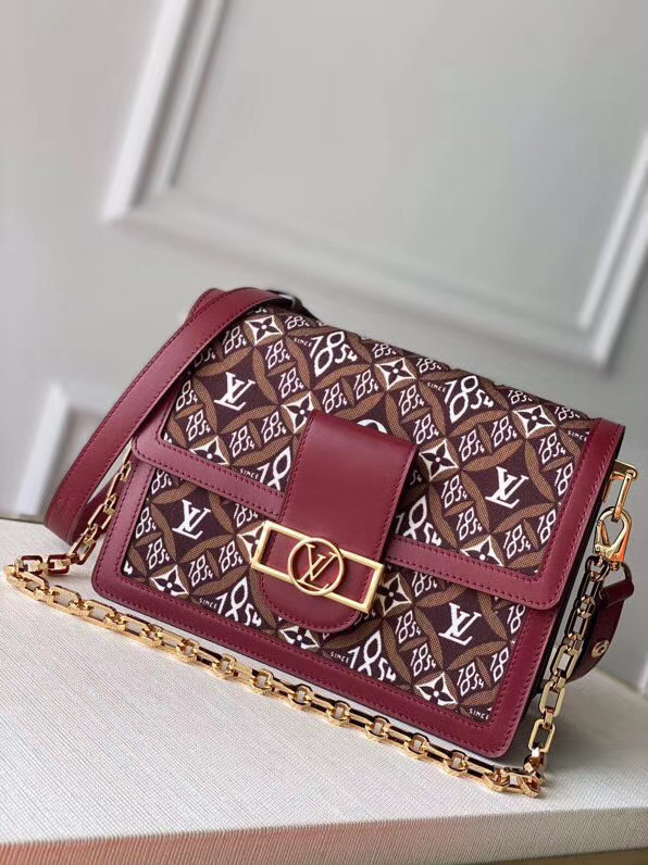 Louis Vuitton DAUPHINE M57211 Burgundy