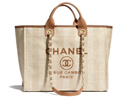 Chanel Shopping bag A66941 Beige