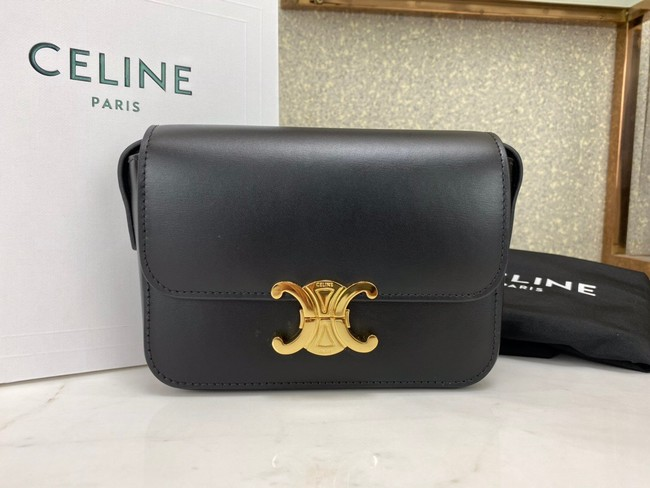 Celine MINI CLASSIC BAG IN BOX CALFSKIN CL01503 black