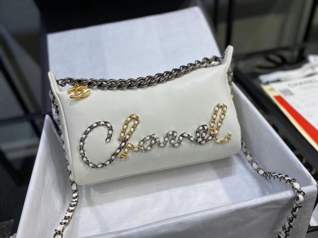 Chanel Original Soft Leather Small Shoulder bag AS0592 white