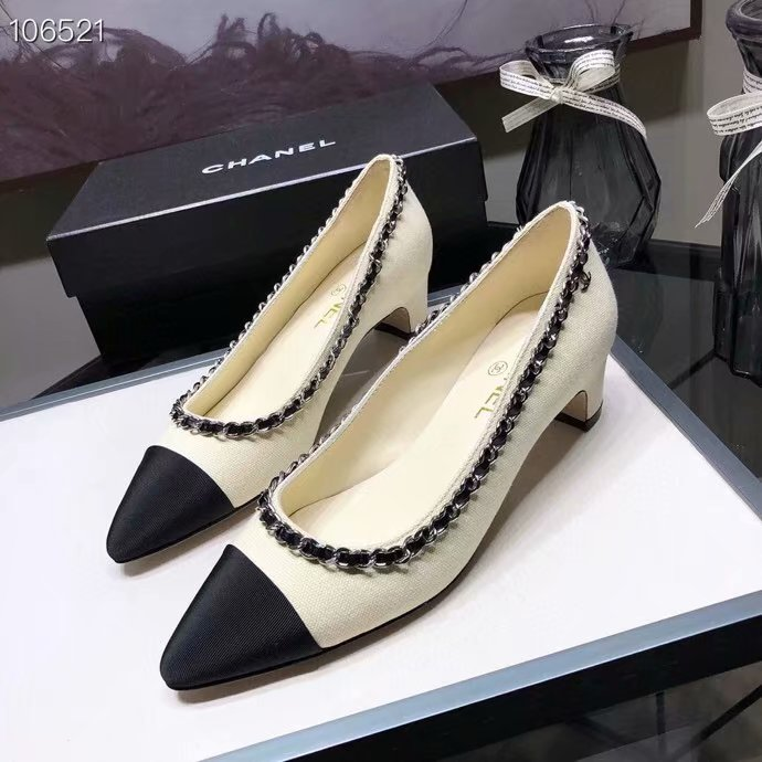 Chanel Shoes CH2594KFC-6 Heel height 4CM