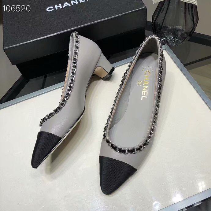 Chanel Shoes CH2594KFC-8 Heel height 4CM