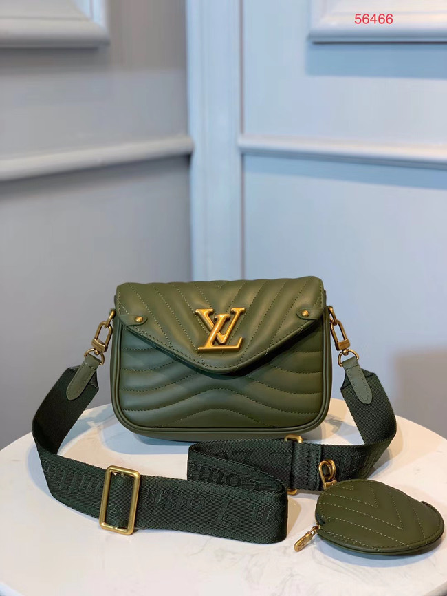 LOUIS VUITTON NEW WAVE Shoulder Bag M56466 Olive green