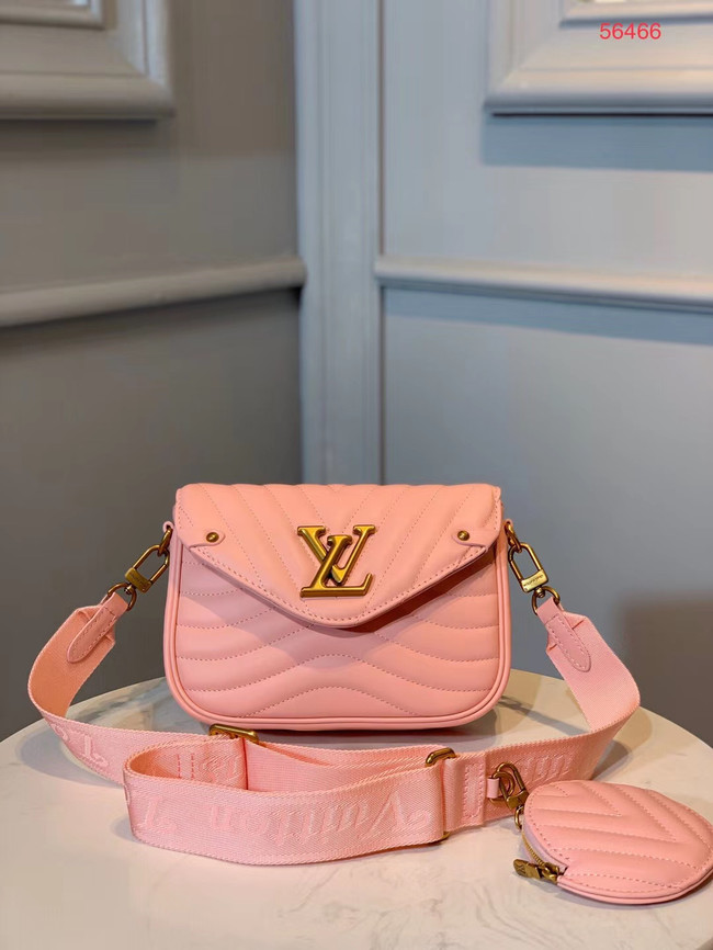 LOUIS VUITTON NEW WAVE Shoulder Bag M56466 pink