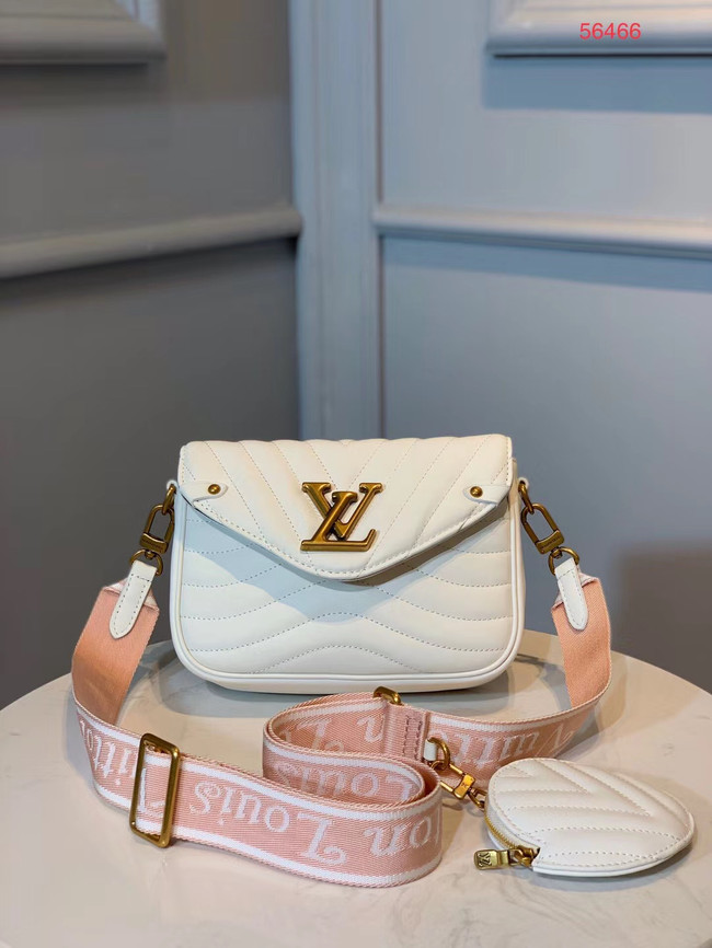 LOUIS VUITTON NEW WAVE Shoulder Bag M56466 white