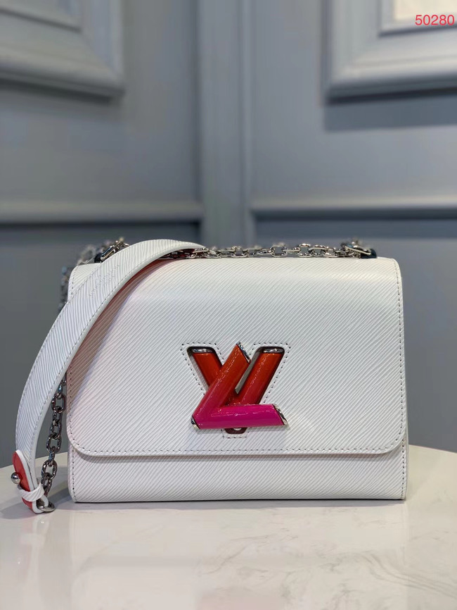 Louis Vuitton Epi Leather TWIST MM M50280 white