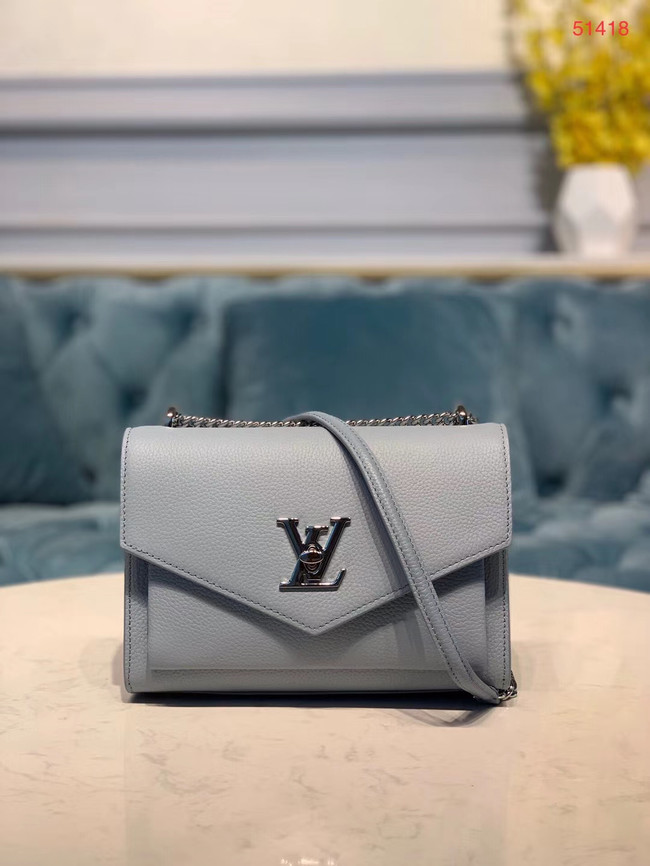 Louis Vuitton MYLOCKME BB M51418 light blue