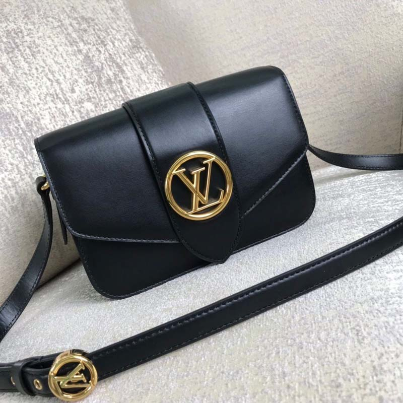 Louis Vuitton Original Smooth Leather M53950 Black