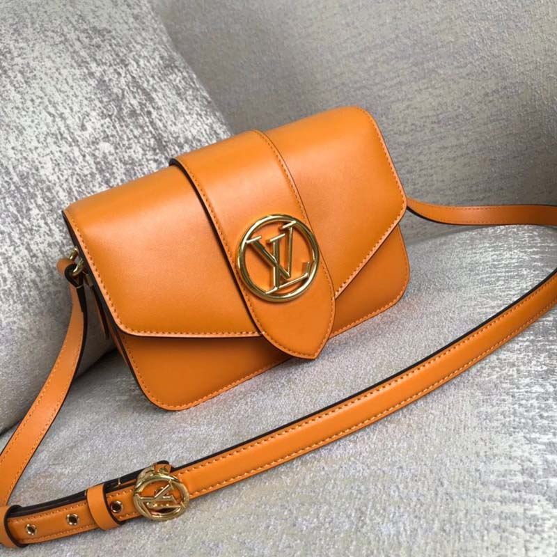 Louis Vuitton Original Smooth Leather M53950 Orange