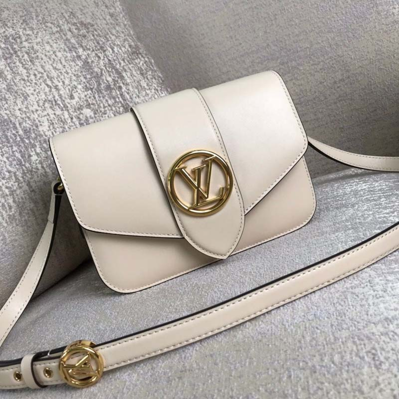 Louis Vuitton Original Smooth Leather M53950 White