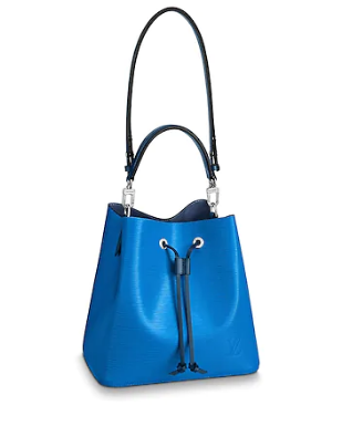 Louis vuitton original epi leather NEONOE M55935 BLUE